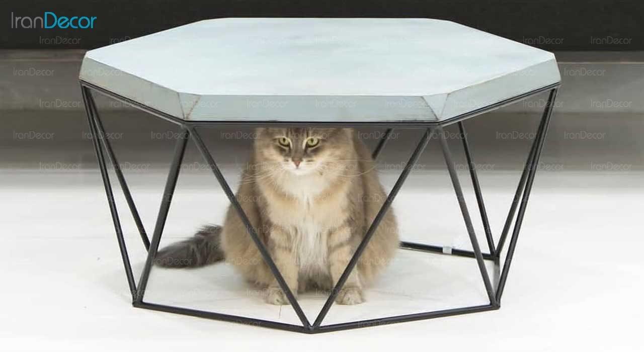 میز جلو مبلی مدرن لافت مدل آدلی