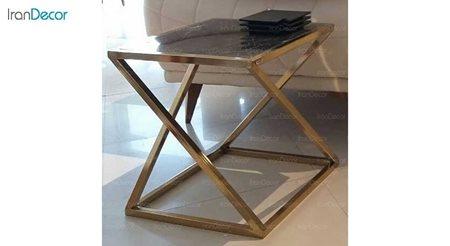 میز عسلی مدرن سنگی لافت مدل لوکا