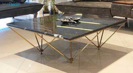 میز جلو مبلی مدرن سنگی لافت مدل یورک