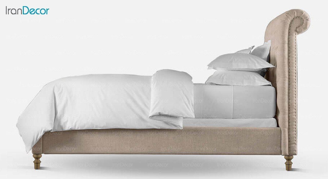 تخت خواب کلاسیک دو نفره تولیکا مدل لاریسا