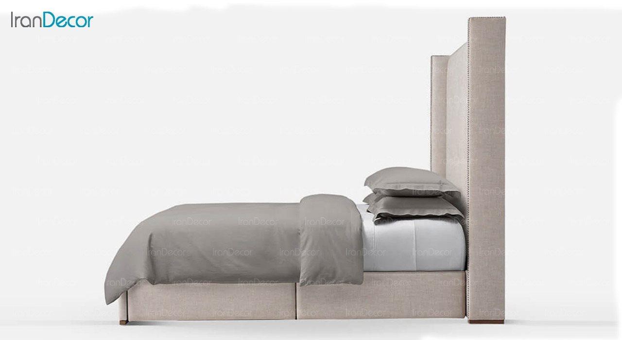 تخت خواب کلاسیک دو نفره تولیکا مدل ورتا