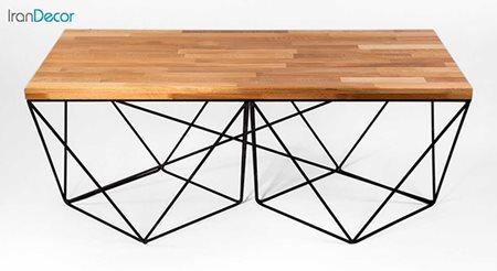 میز جلو مبلی صفحه چوبی مدل W6060