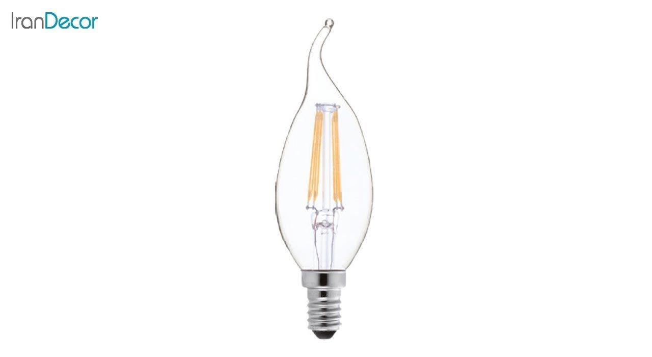 لامپ فیلامنتی اشکی 4 وات شعاع مدل SH-C35L-C-4W