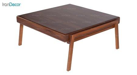 میز جلو مبلی چوبی مربع بِست مدل لیون