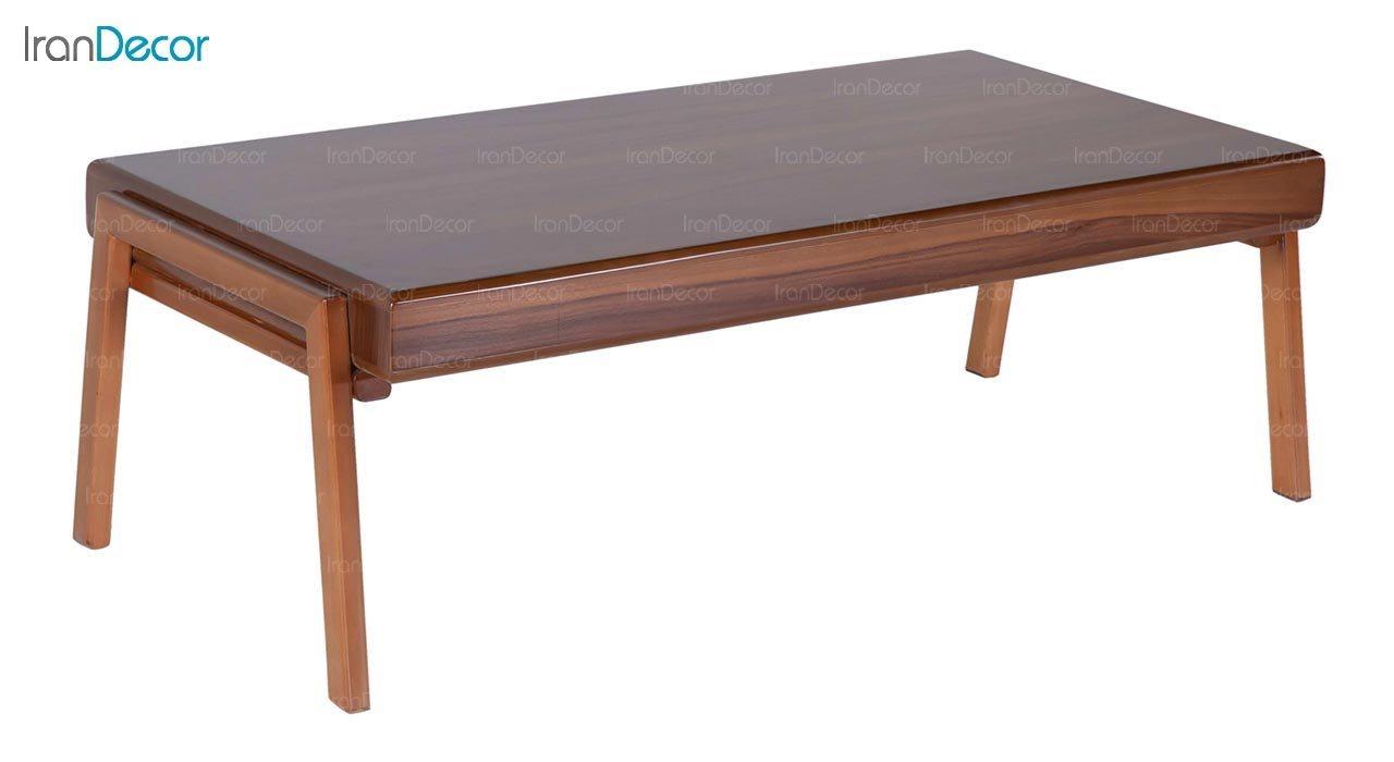 میز جلو مبلی چوبی مستطیل بِست مدل لیون