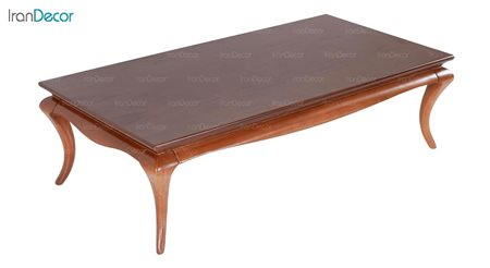 میز جلو مبلی چوبی مستطیل بِست مدل دیاموند