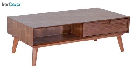 میز جلو مبلی چوبی مستطیل بِست مدل لاوین