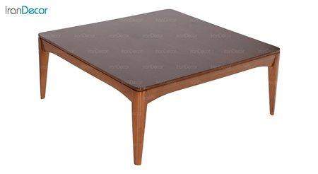 میز جلو مبلی چوبی مربع بِست مدل کارن