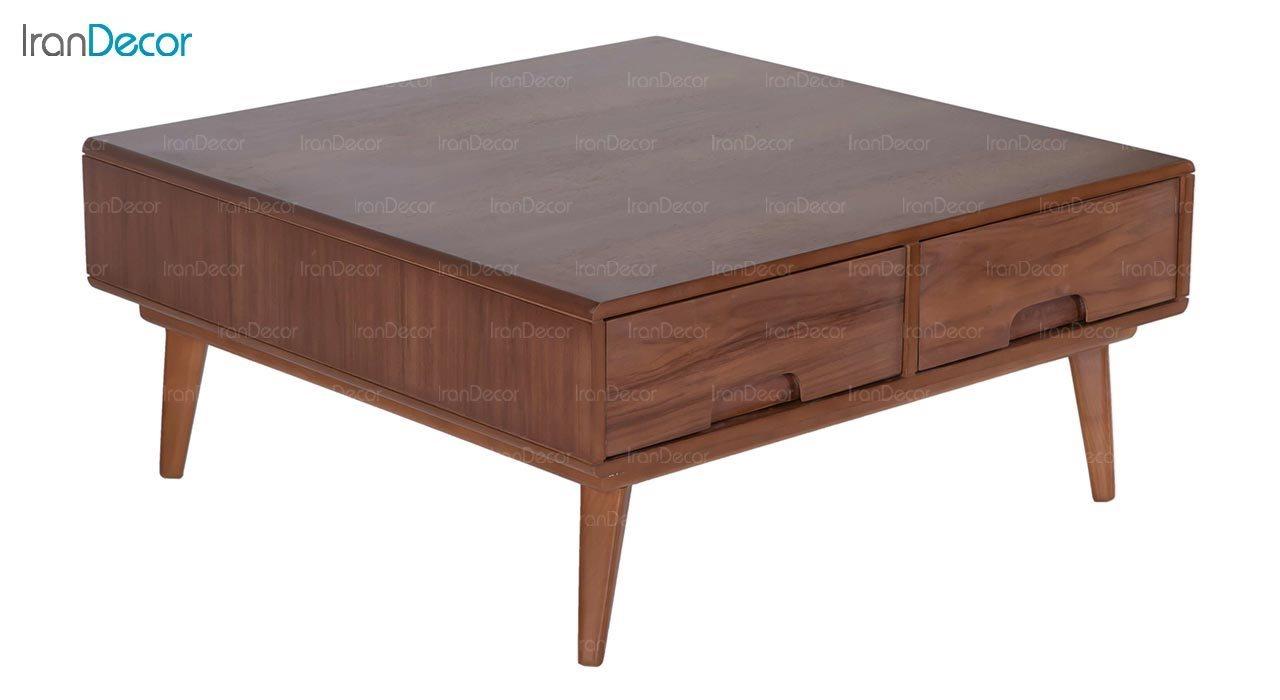 میز جلو مبلی چوبی مربع بِست مدل سلنا