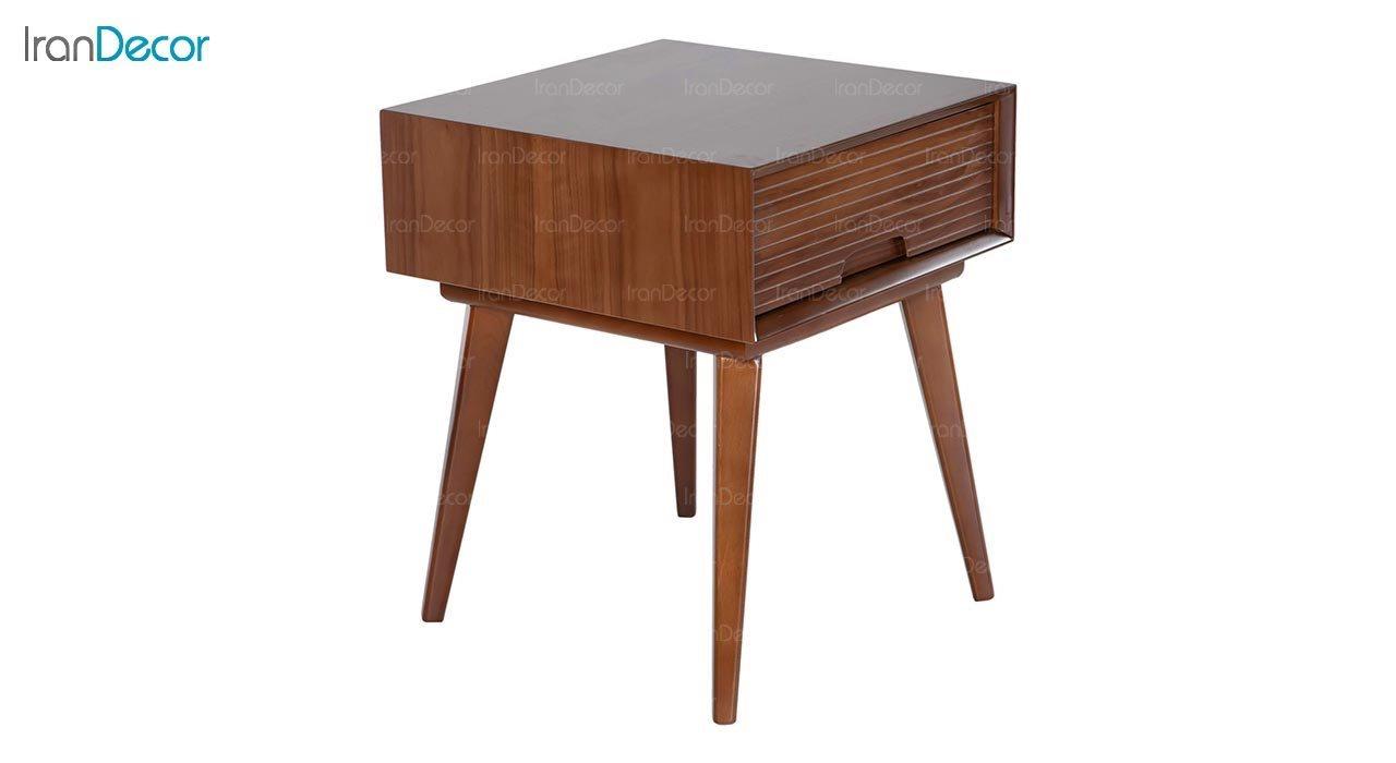 میز عسلی چوبی بِست مدل لاوین