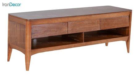 میز تلویزیون چوبی بِست مدل کارن