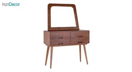 آینه کنسول چوبی بِست مدل سلنا