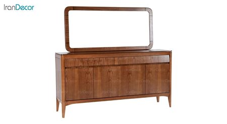 آینه کنسول چوبی بِست مدل کارن