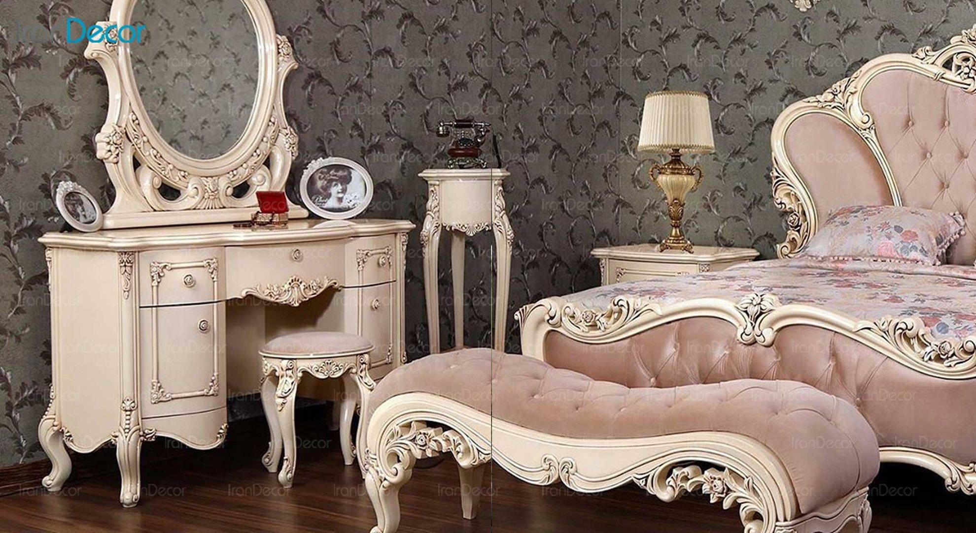 سرویس خواب کلاسیک دارون مدل نیروانا