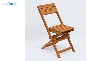 صندلی تاشو چوبی آرون مدل آکاژو