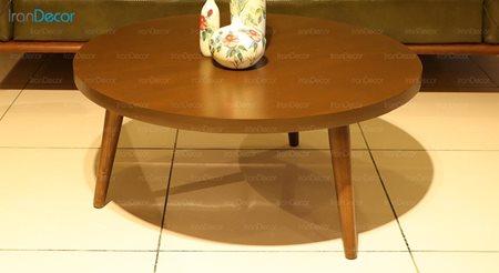 میز جلو مبلی چوبی آرون مدل مینوس