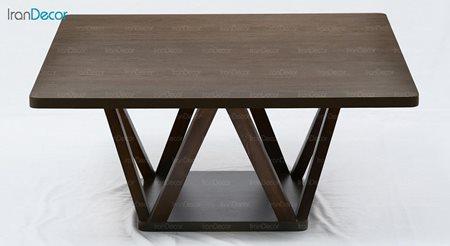 میز جلو مبلی چوبی آرون مدل ژوبا