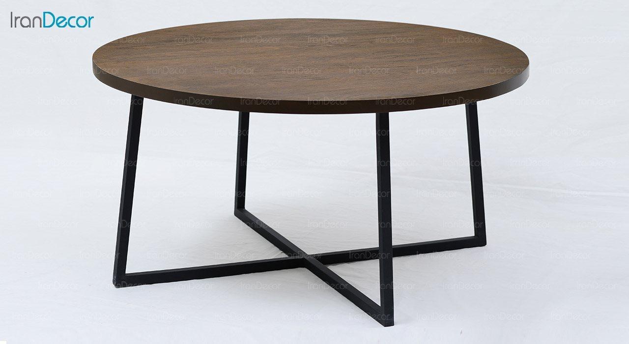 میز جلو مبلی چوبی آرون مدل ساروس