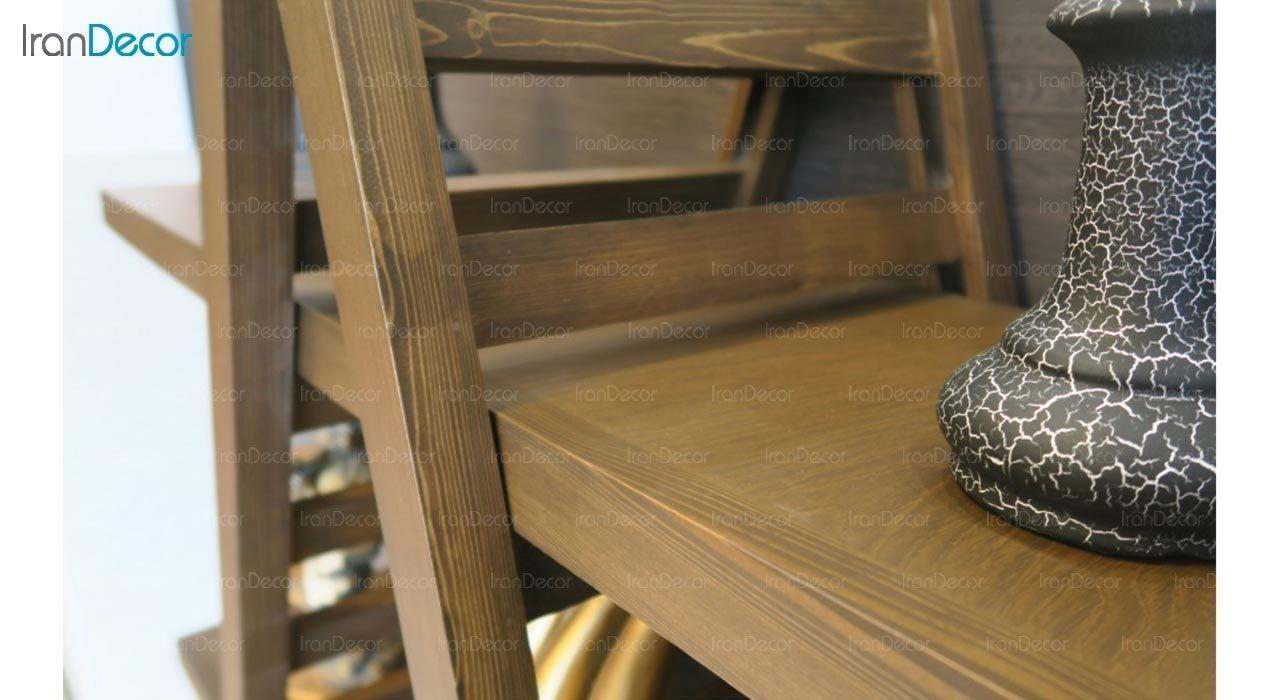 استند دکوری چوبی آرون مدل کارکس