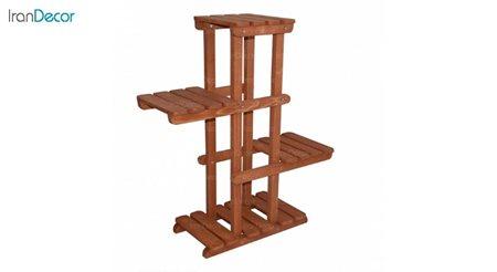 استند دکوری چوبی آرون مدل درسنا
