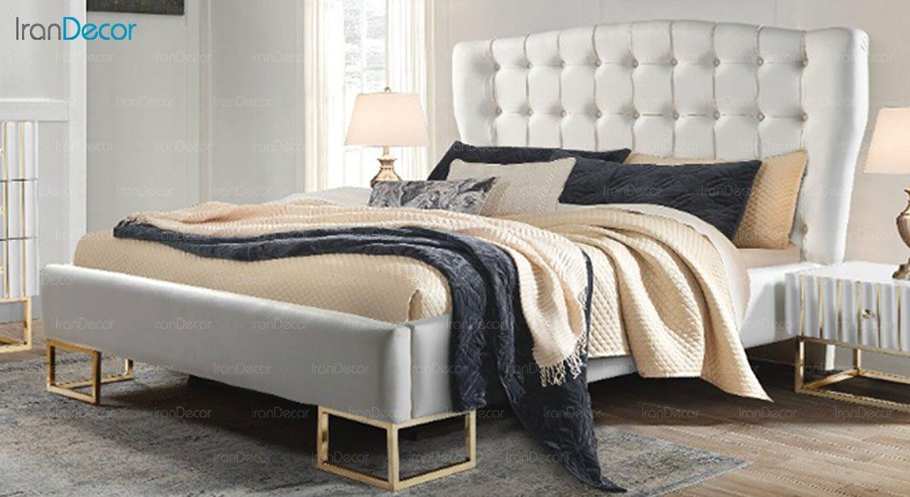 تخت خواب دو نفره پارس چوب مدل رادین