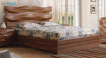 تخت خواب دو نفره پارس چوب مدل فدرال