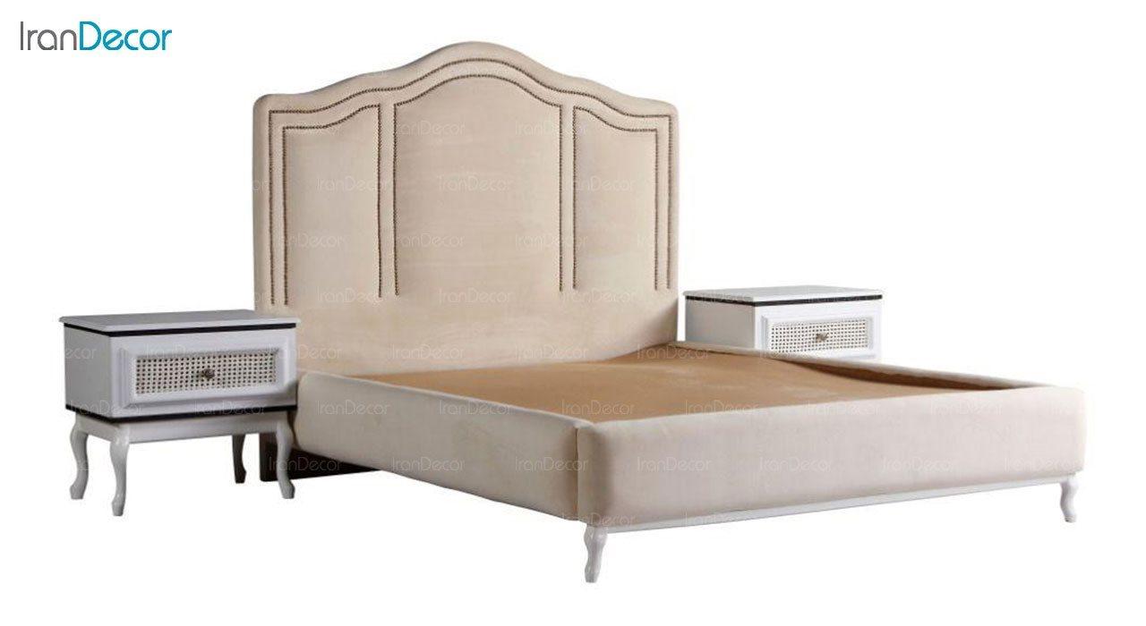 سرویس خواب دو نفره پارس چوب مدل چوپر