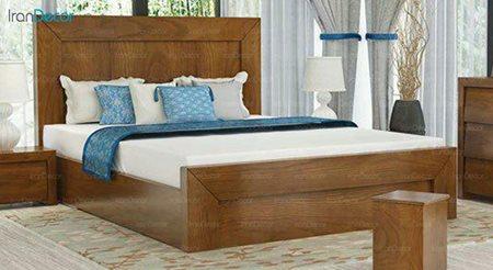تخت خواب دو نفره مادرین مدل آلفا