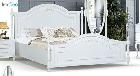 تخت خواب دو نفره مادرین مدل آدینا