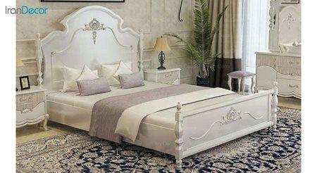 تخت خواب دو نفره مادرین مدل ایوانکا