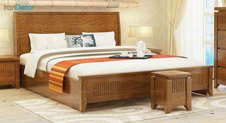 تخت خواب دو نفره مادرین مدل پردیس
