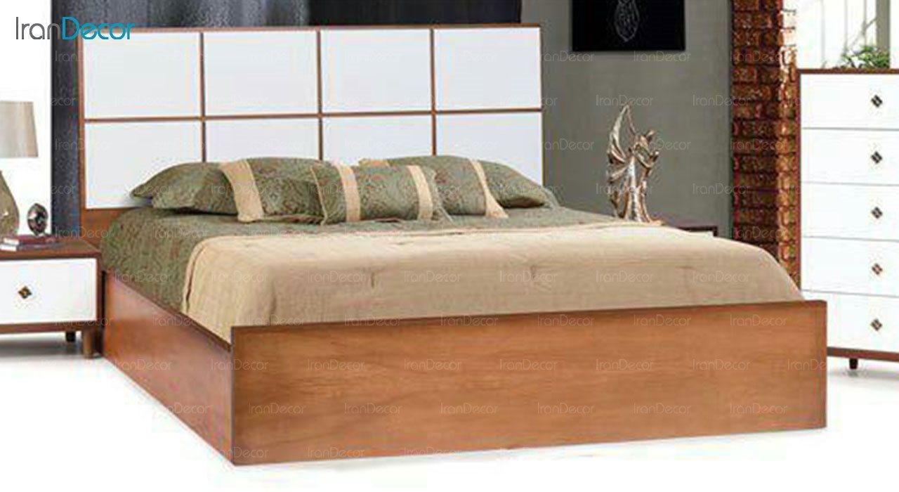 تخت خواب دو نفره مادرین مدل ژالین