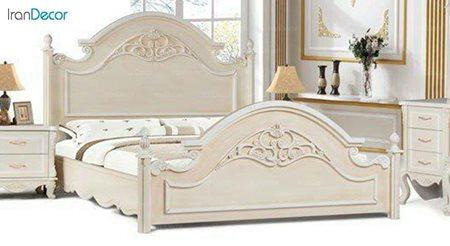 تخت خواب دو نفره مادرین مدل سوگل