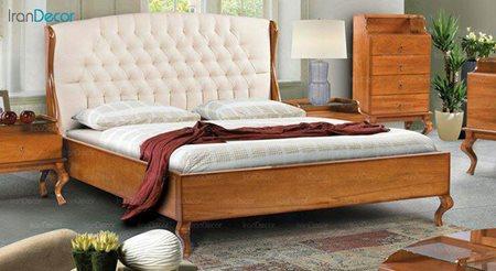 تخت خواب دو نفره مادرین مدل هیوا