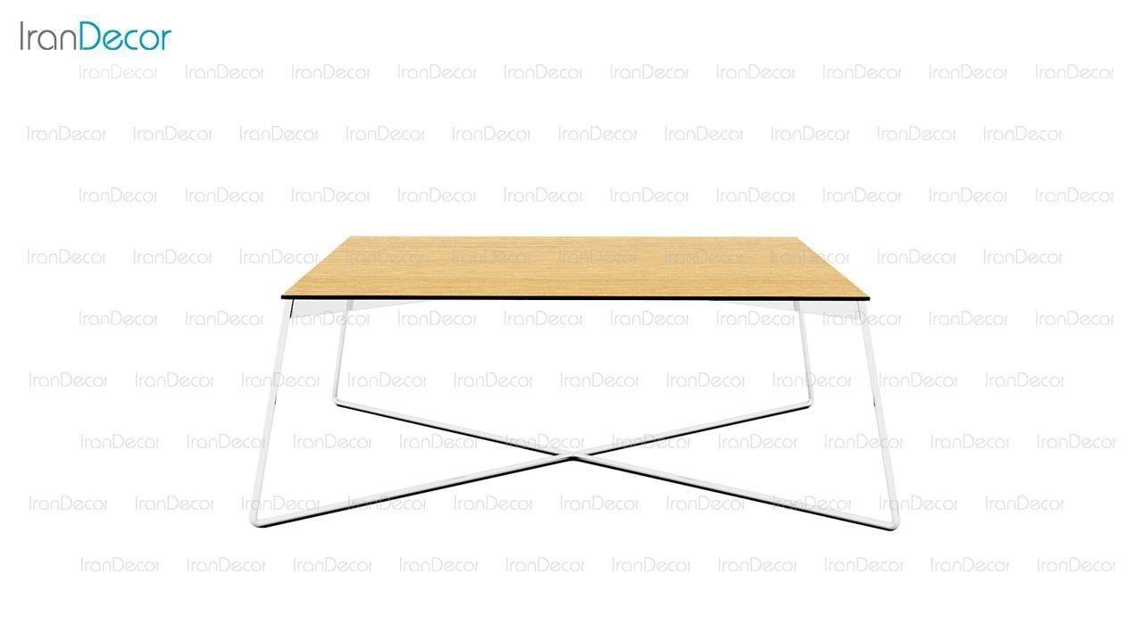 میز جلو مبلی مربع مدل Fly70 از صنایع نظری
