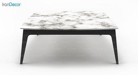 میز جلو مبلی سنگی مربع مدل Bertoli