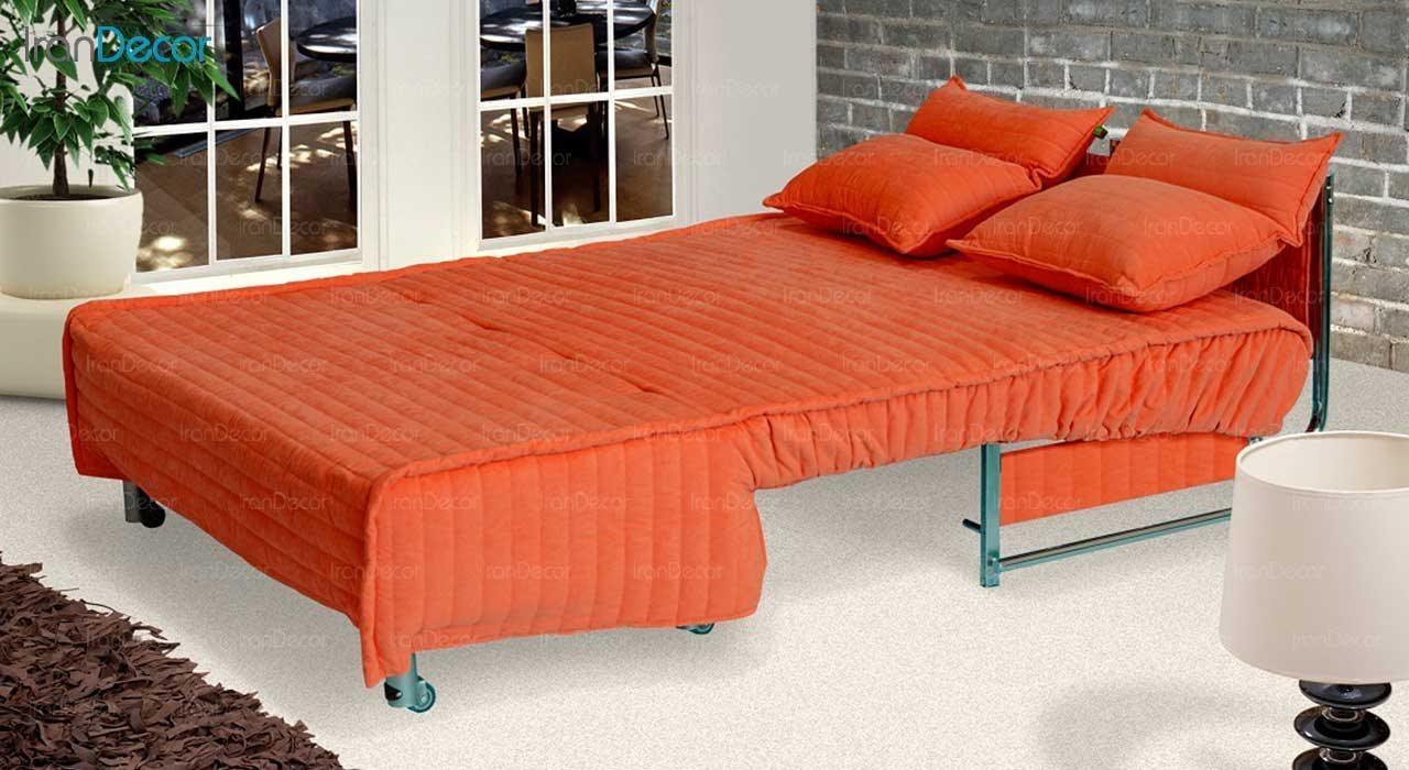 مبل تختخواب شو دو نفره مدل کاپری از مبلمان سیب