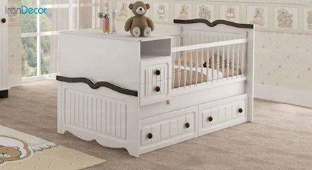 تخت خواب دو منظوره نوزاد و کودک چری مدل C102