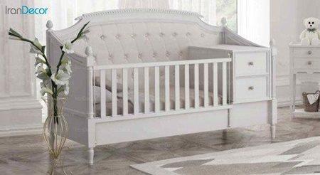 تخت خواب دو منظوره نوزاد و کودک چری مدل C104