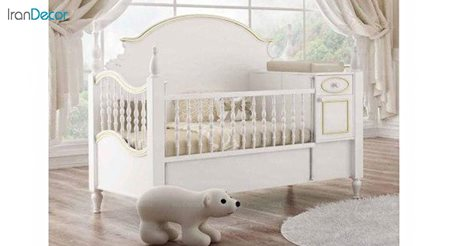 تخت خواب دو منظوره نوزاد و کودک چری مدل C105