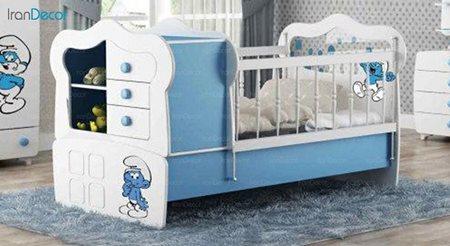 تخت خواب دو منظوره نوزاد و کودک چری مدل C107