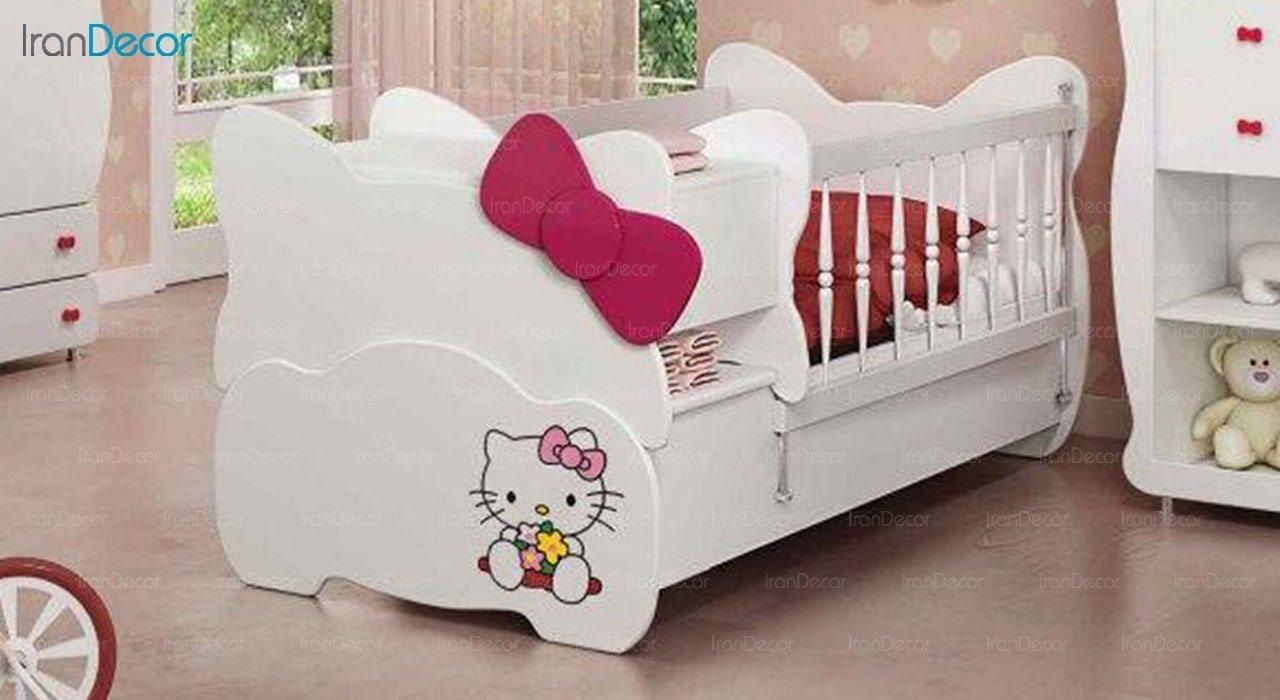 تخت خواب سه منظوره نوزاد و کودک چری مدل C110