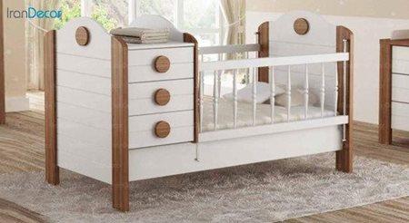 تخت خواب دو منظوره نوزاد و کودک چری مدل C111