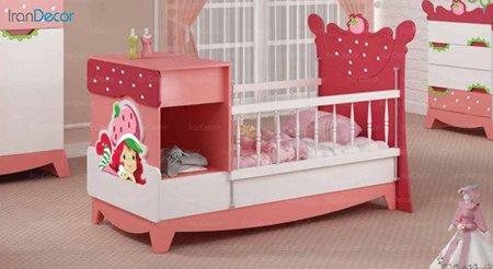 تخت خواب دو منظوره نوزاد و کودک چری مدل C112