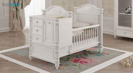 تخت خواب دو منظوره نوزاد و کودک چری مدل C114