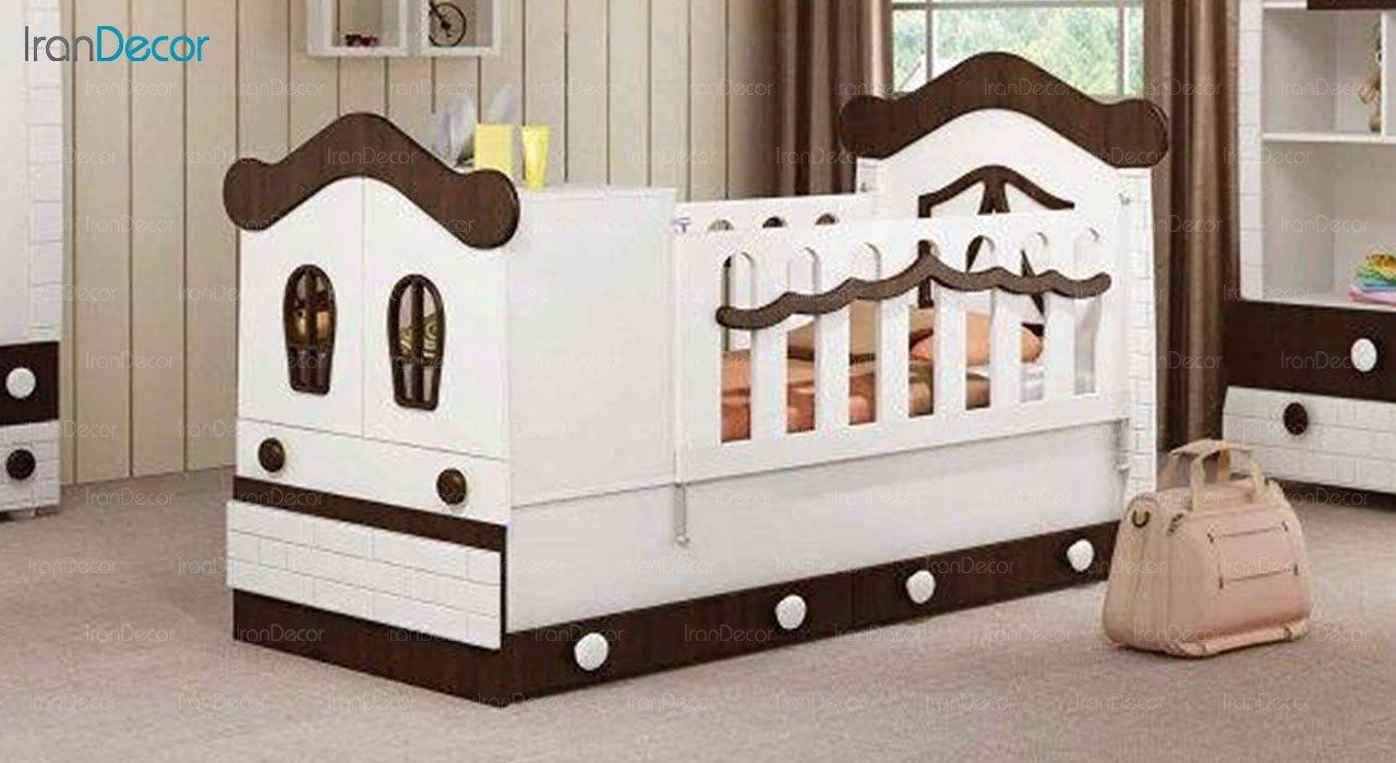 تخت خواب دو منظوره نوزاد و کودک چری مدل C127