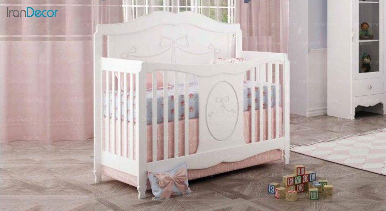 تخت خواب نوزاد چری مدل C136