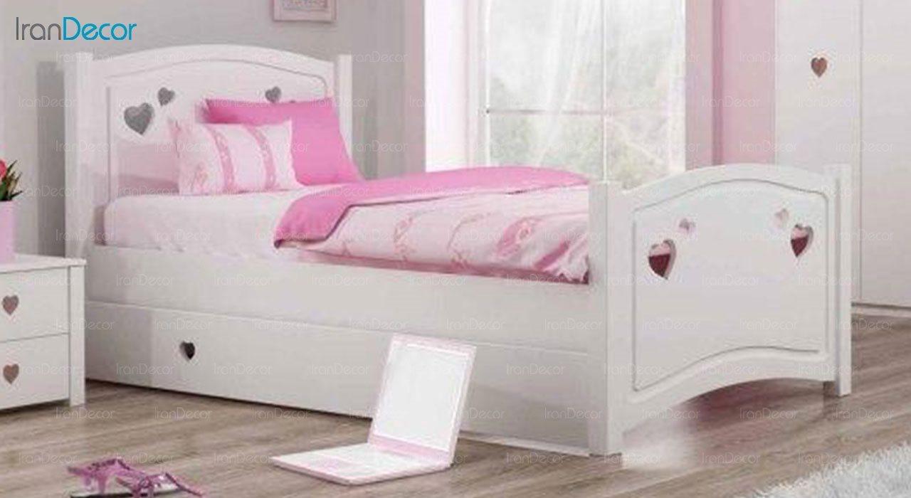 تخت خواب نوجوان چری مدل C302