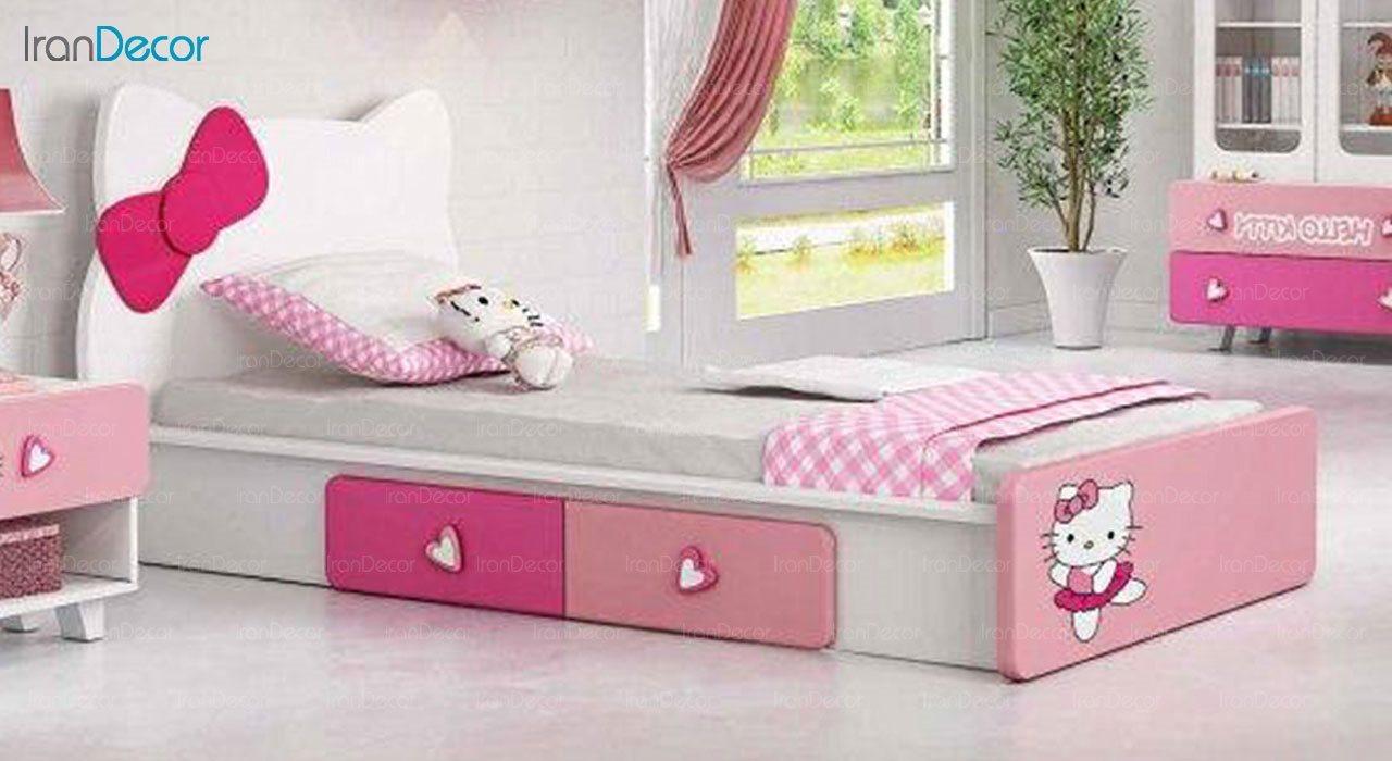 تخت خواب نوجوان چری مدل C319
