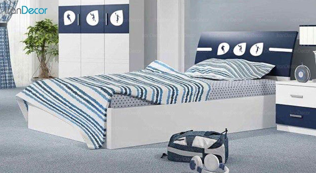 تخت خواب نوجوان چری مدل C324